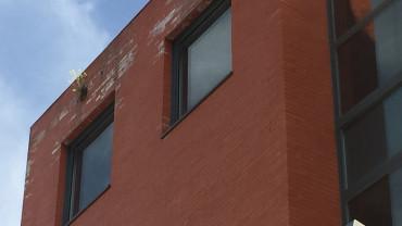 El Centro Cívico. El Edificio de la Policía Local y el de Servicios Sociales